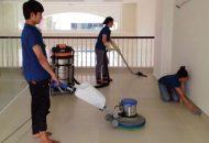 tổng vệ sinh các công trình sau xây dựng