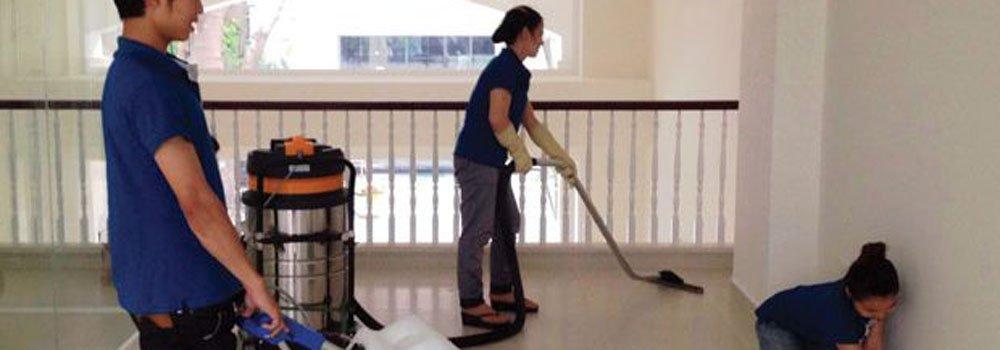 quy trình dọn dẹp nhà cửa