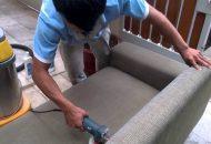 dịch vụ vệ sinh giặt ghế sofa vải nhung