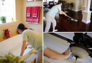 quy trình lau sàn ướt chuyên nghiệp