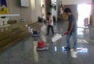 quy trình đánh bóng sàn đá granite