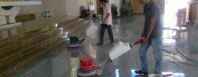 dịch vụ đánh bóng sàn đá marble tại quận 5