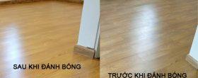 dịch vụ đánh bóng sàn gỗ công nghiệp