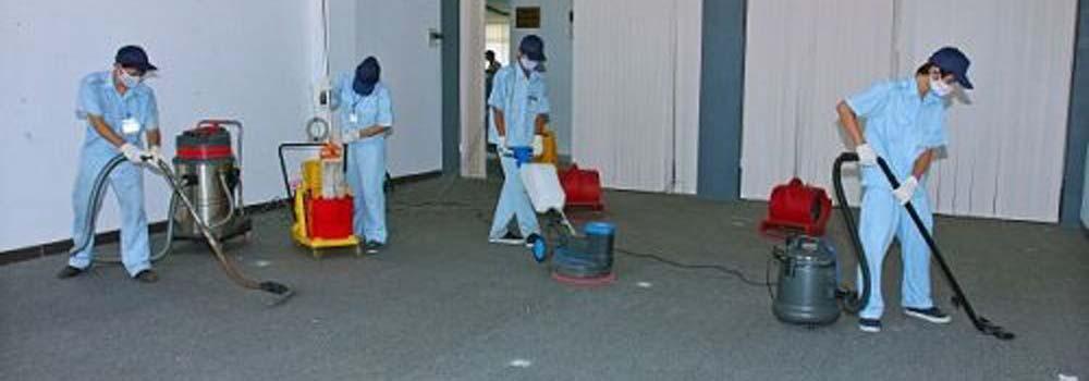 quy trình dịch vụ vệ sinh công nghiệp