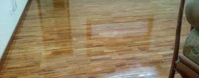 dịch vụ phủ bóng sàn gỗ