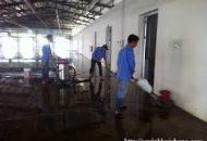 dịch vụ vệ sinh nhà kho sau xây dựng