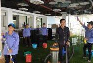 đội vệ sinh công nghiệp tại quận 1