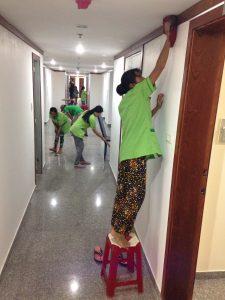 dịch vụ tổng vệ sinh nhà sau xây dựng