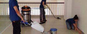vệ sinh công trình sau xây dựng tại quận thủ đức