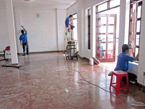 bảng giá dọn dẹp nhà ở sau xây dựng