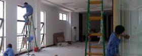 dọn dẹp văn phòng sau xây dựng