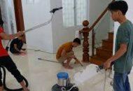 vệ sinh công trình sau xây dựng tại tphcm
