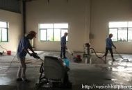 dịch vụ đánh bóng sàn bê tông tại quận 11