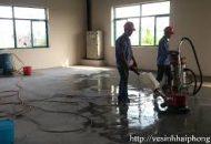 dịch vụ đánh bóng sàn bê tông tại quận 2